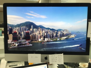 Nice HK view in thescreensaver