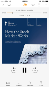 """Almost finish the book """"How the stock marketworks"""""""