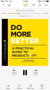 Reading: Do MoreBetter