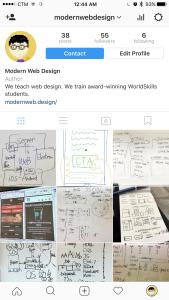 My web design trainingInstagram