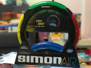 New toy at home: Simon air
