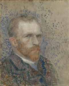 Van Gogh's self portrait.
