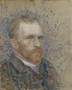 Van Gogh's selfportrait.