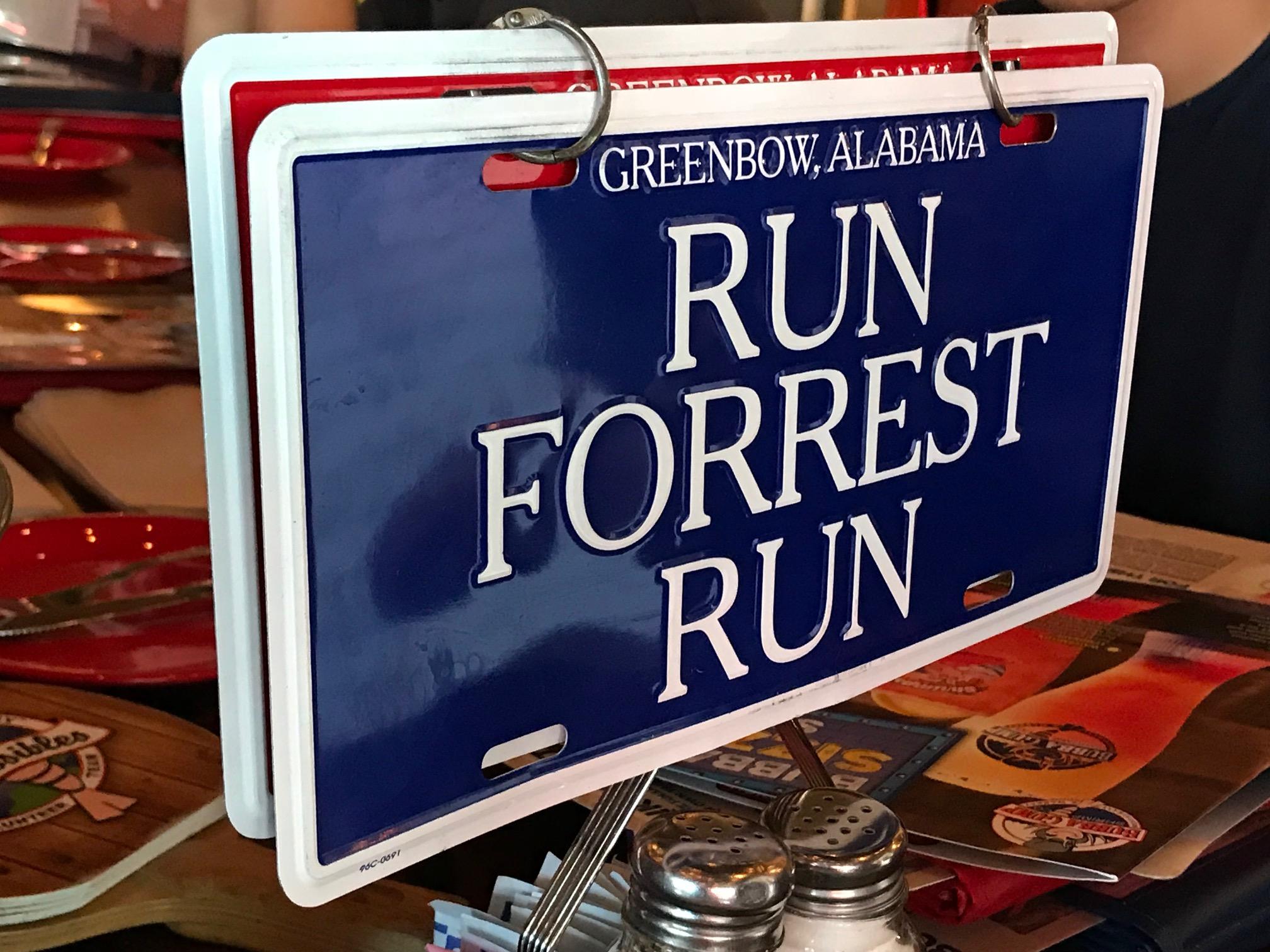 Run Forrest Run.