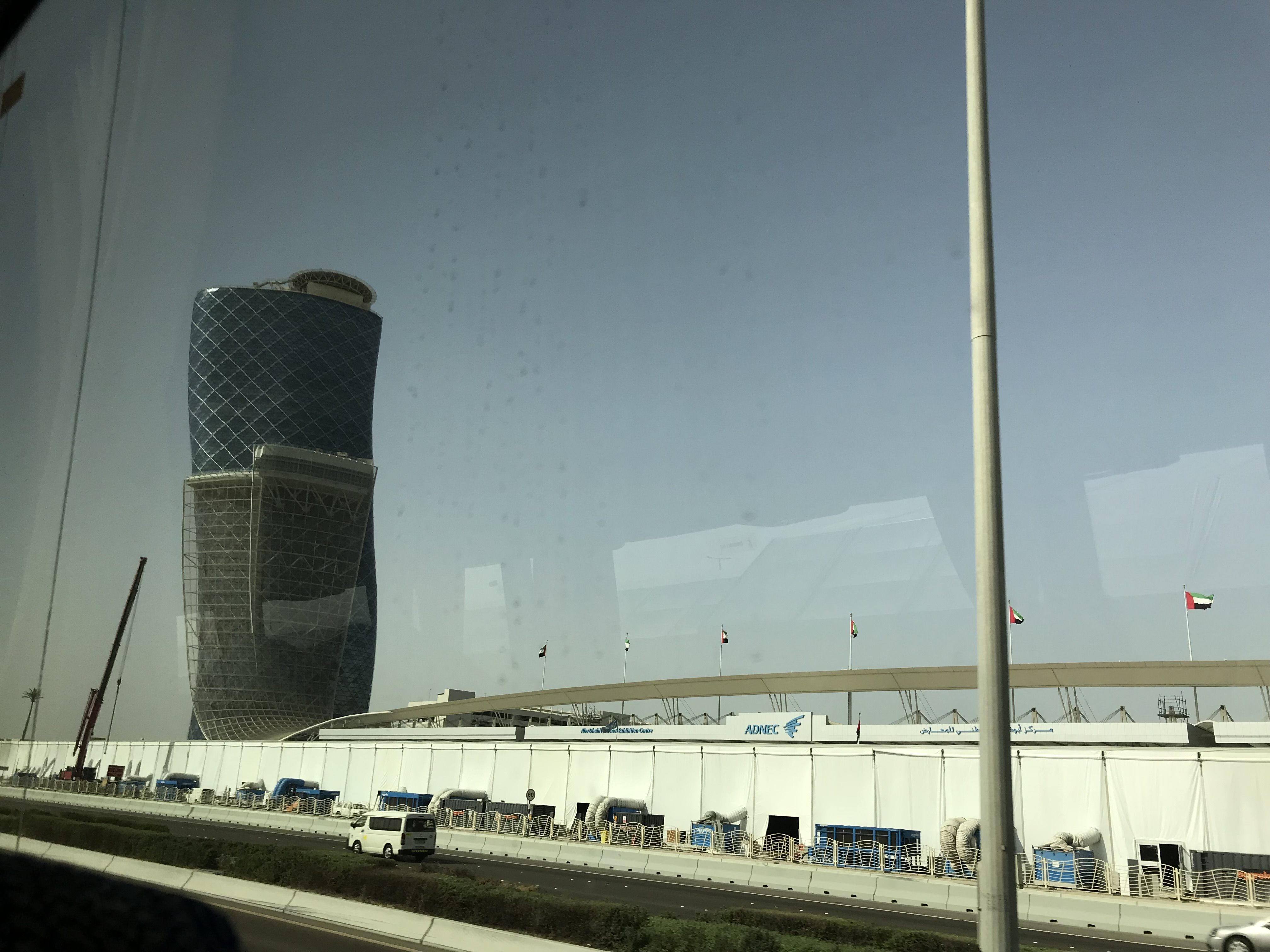 Bye ADNEC. I had good memories here working with people all over theworld.