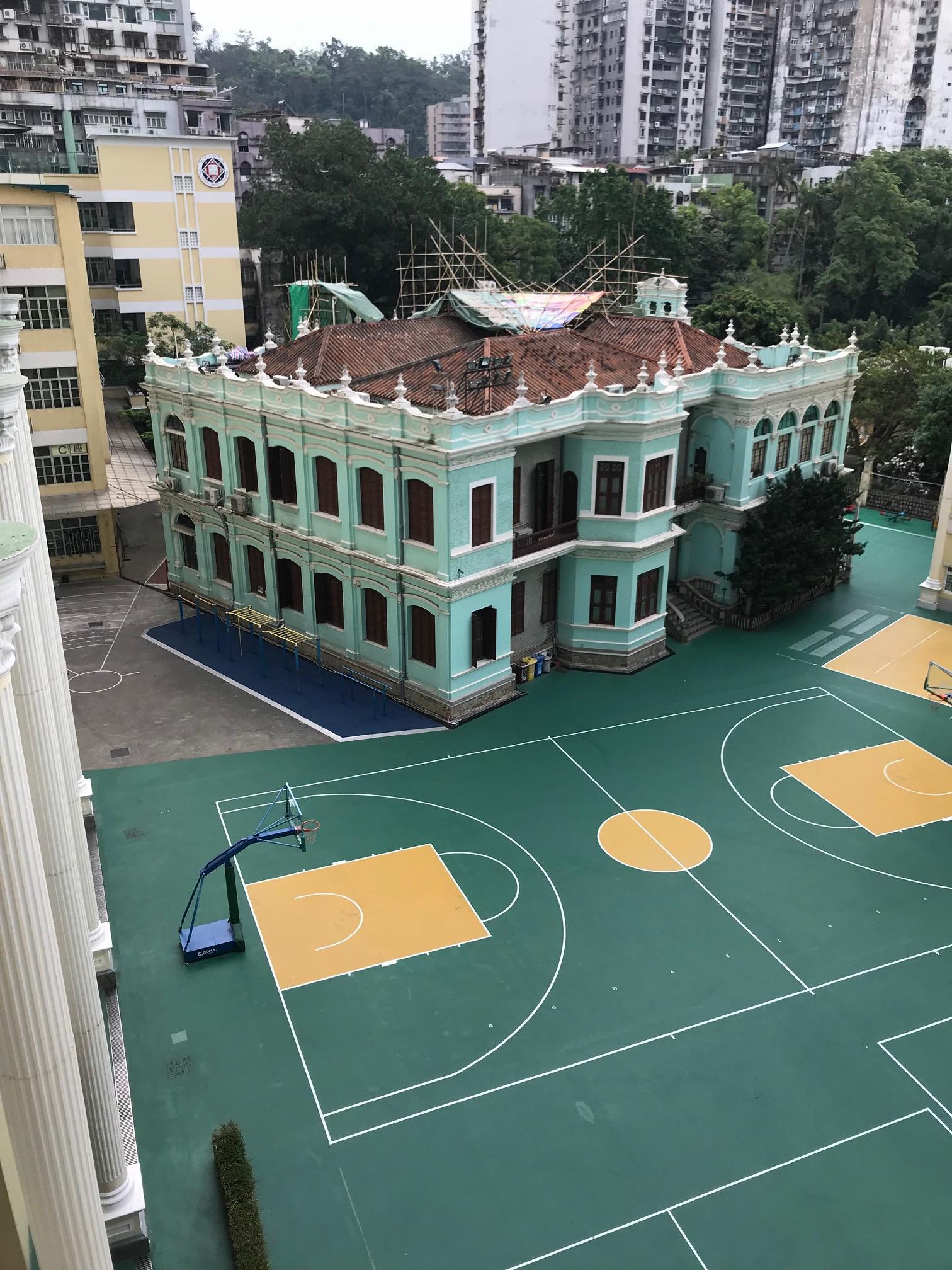My home school.