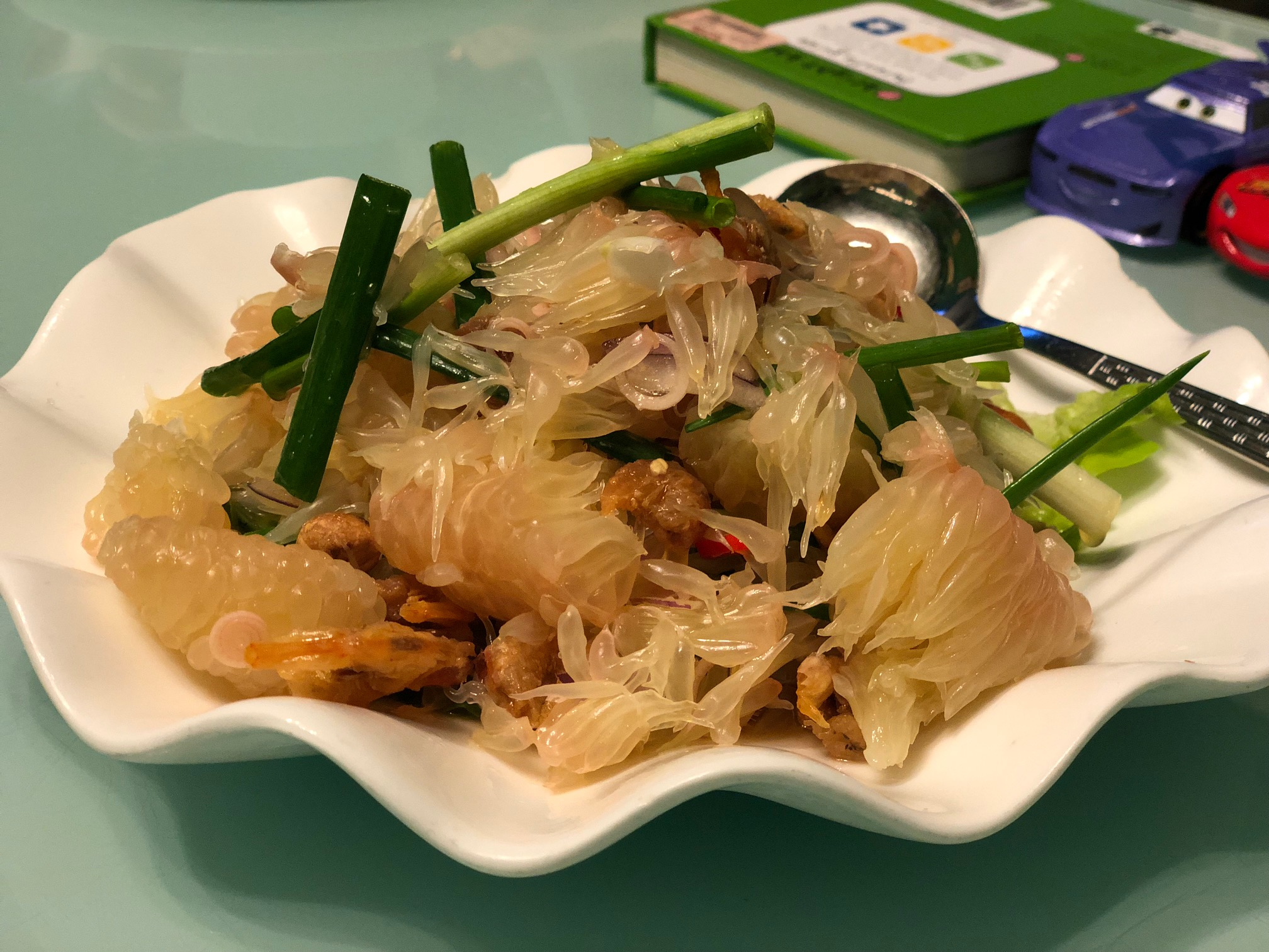 Thai food dinner.