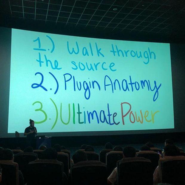 I love Larkin's presentation style.