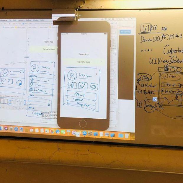 Yesterday's iOS class.