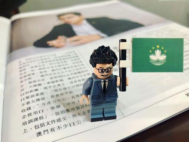 MZ LEGO figure.