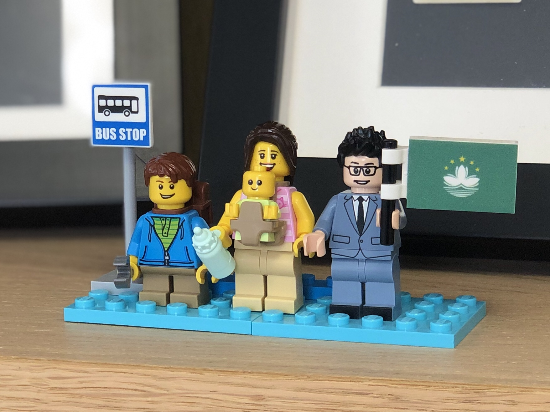 Family in LEGO