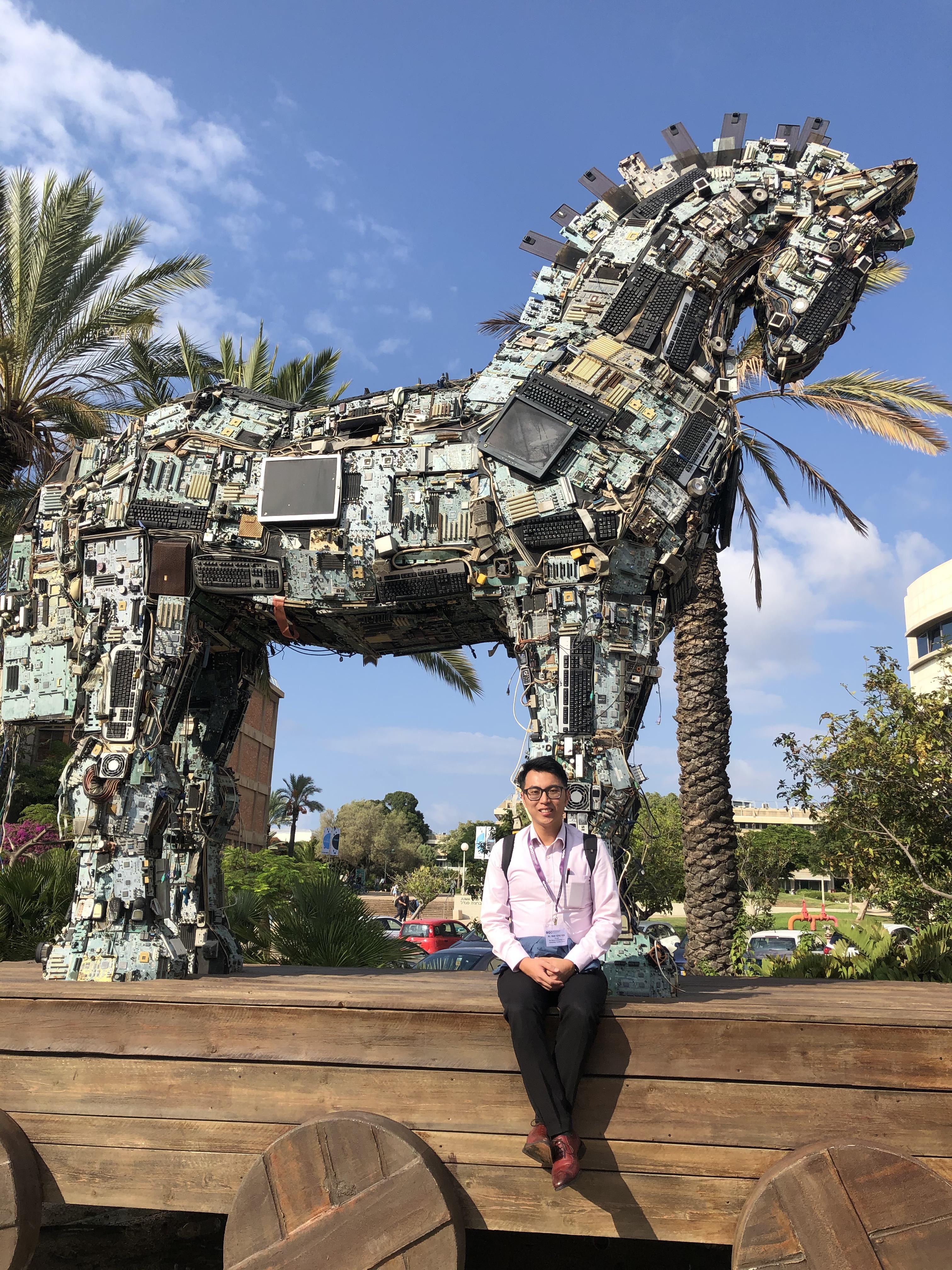 Cyber Horse at Tel AvivUniversity.