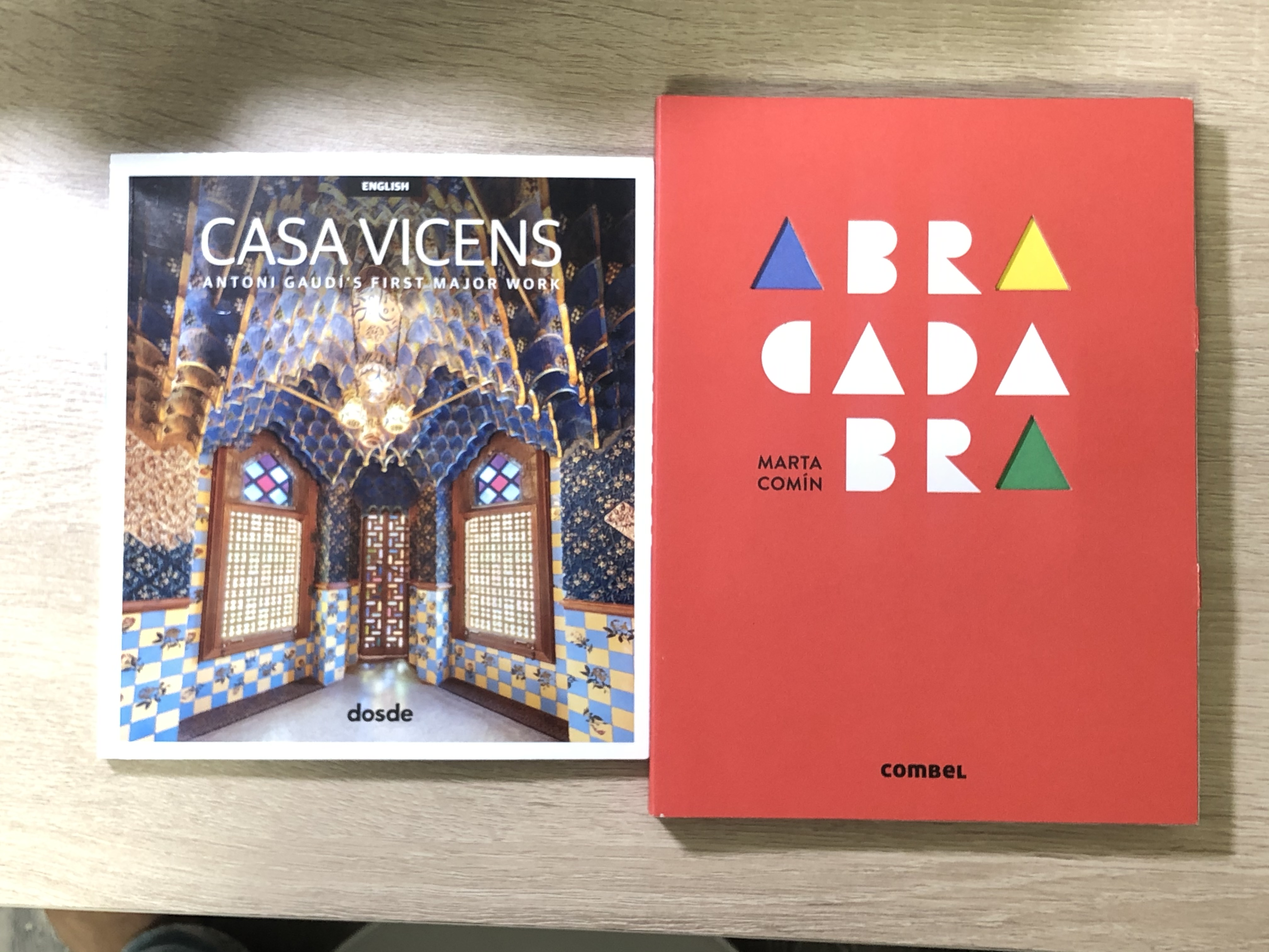 Two new books from Spain. Fun and inspiring.